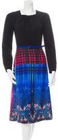 Clover Canyon Long Sleeve Midi Dress