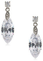 Carolee Cubic Zirconia Studded Drop Earrings