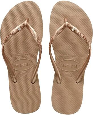 Havaianas Slim Crystal Embellished Flip Flop