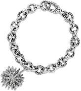 David Yurman Starburst Charm Bracelet with Diamonds