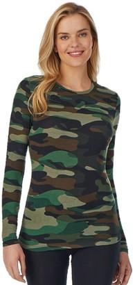 Cuddl Duds Women's Softwear Crewneck Top