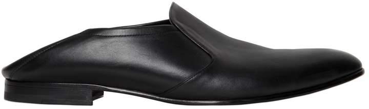 Juun.J Leather Mules