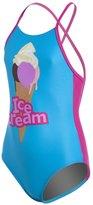 Arena Girls' Ice Cream One Piece Swimsuit 8127928