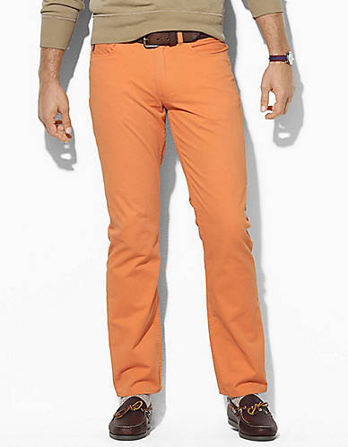Polo Ralph Lauren Straight-Fit 5-Pocket Vintage Chino Pants