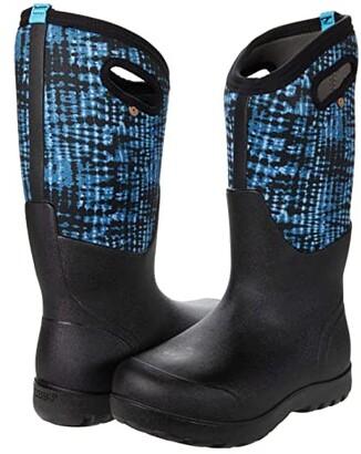 Bogs Neo Classic Tie-Dye (Blue Multi) Women's Boots