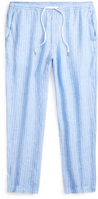 Ralph Lauren Relaxed Fit Striped Linen Pant