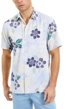 Tommy Bahama Men's Burma Botanical Classic-Fit IslandZone Moisture-Wicking Temperature-Regulating Tropical-Print Camp Shirt