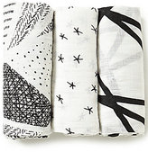 Aden Anais Aden + Anais Baby Girls 3-Pack Silky Soft Swaddle Blankets