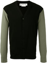 Marni poplin sleeve cardigan - men - Cotton - 48