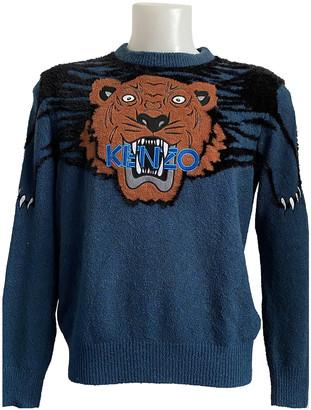 Kenzo Green Wool Knitwear & Sweatshirts