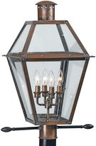 Bed Bath & Beyond Rue de Royal Outdoor 4-Light Lamp Post in Aged Copper