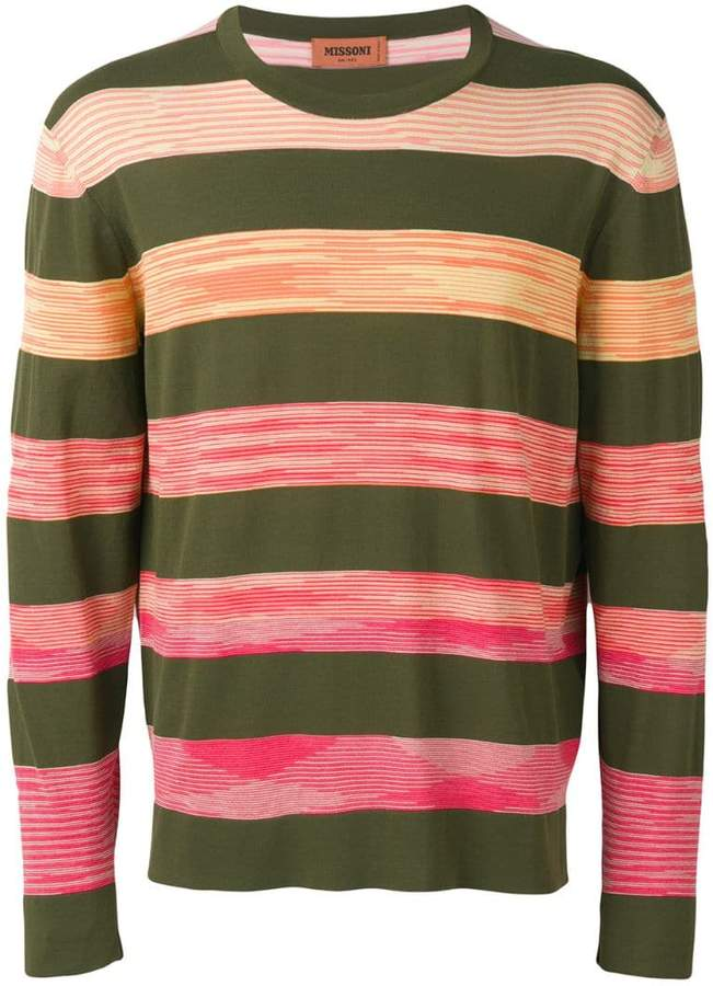 Missoni striped knit sweater
