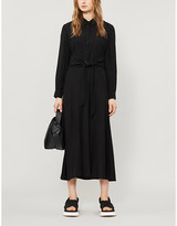 Claudie Pierlot Respecte woven midi dress