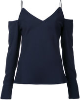 CHRISTOPHER ESBER cold-shoulder blouse