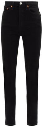 RE/DONE 80s Slim-leg Jeans - Black