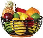 Mikasa Gourmet Basics Rope Round Fruit Basket