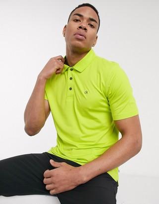 Calvin Klein Golf Newport polo shirt in green