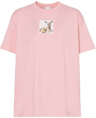 Burberry Deer print T-shirt