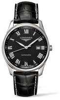 Longines Master Automatic Leather Strap Watch, 42mm