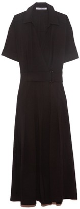 Camilla And Marc Corsica Pleated Dress in Black