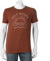 """Men's SONOMA Goods for LifeTM """"Calm Waters"""" Tee"""