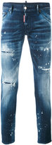 DSQUARED2 distressed skinny jeans - men - Cotton/Spandex/Elastane - 44