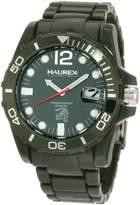 Haurex Italy Men's V7354UVV Caimano Date Dial Plastic Sport Watch