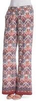 Joie Aryn Folkloric Printed Silk Pants