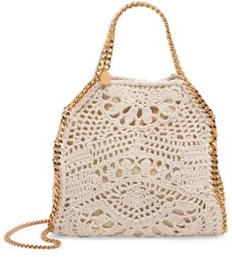 Stella McCartney Mini Falabella Crochet Cotton Tote