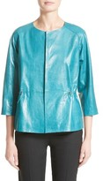 Lafayette 148 New York Women's Keiran Leather Jacket