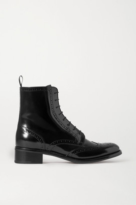 Church's Sylvie Glossed-leather Ankle Boots - Black