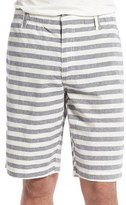 Tailor Vintage Men's Stripe Linen & Cotton Shorts
