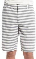 Tailor Vintage Men's Stripe Linen & Cotton Shorts
