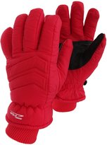 Universal Textiles Mens Ridge Back Waterproof Padded Thermal Ski Gloves With Palm Grip