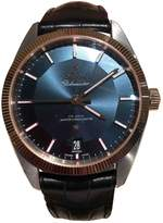 Omega Constellation Blue Gold plated Watches