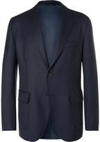 Brioni - Blue Water-resistant Wool-twill Blazer