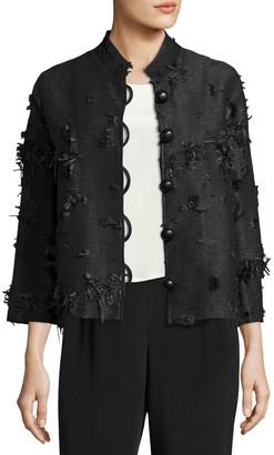 Caroline Rose Plus Size Made in the Shade Jacket, Black