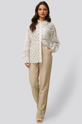 NA-KD Side Slit Suit Pants