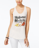 Disney Juniors' The Lion King Sequined Graphic Tank Top