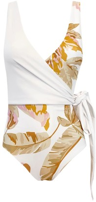 Baiia Bahamas Reversible Wrapsuit