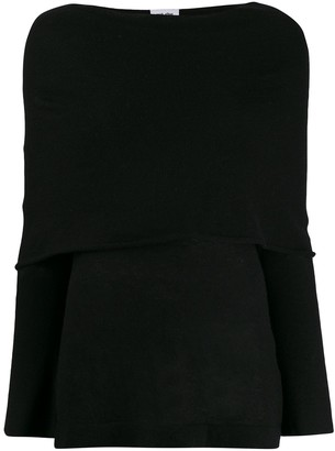Each X Other Cape Detail Jumper