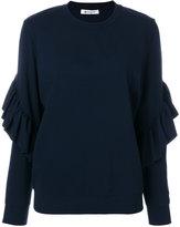 Dondup frill sleeve sweater