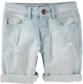 Osh Kosh Girls 4-12 Cuffed Denim Shorts