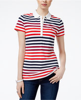 Tommy Hilfiger Sarah Striped Polo Top