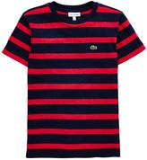 Lacoste Short Sleeve Stripe T -shirt
