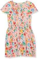 Yumi Girl's Tropical Floral Playsuit (Multi) Dress