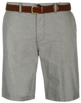 Pierre Cardin Mens Oxford Shorts Chino Pants Trousers Bottoms Chinos Lightweight