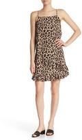 Abound Ruffle Printed Sleeveless Dress