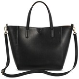 Merona Women's Small Reversible Faux Leather Tote