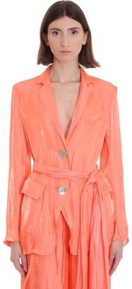 Kenzo Blazer In Orange Polyester